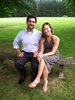 David Faleris and Lisa Naas