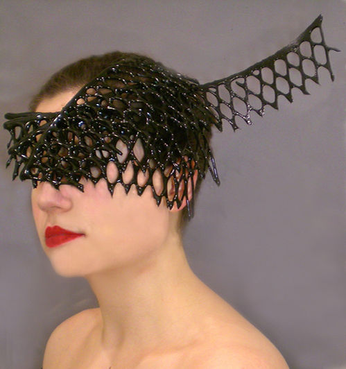 Live Model Fitting for 'The Fascinator' (Image: Lisa Naas)