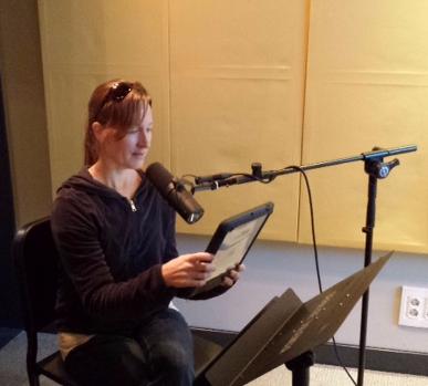 Recording Lisa's Voice