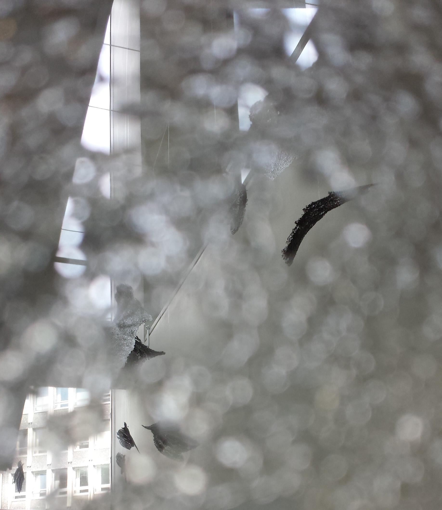 Sorrows Glass Panel Detail