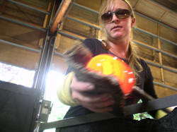 Glassblowing at Pilchuck
