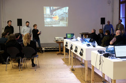Presenting 'Makers Mark' at Summerhall, Edinburgh