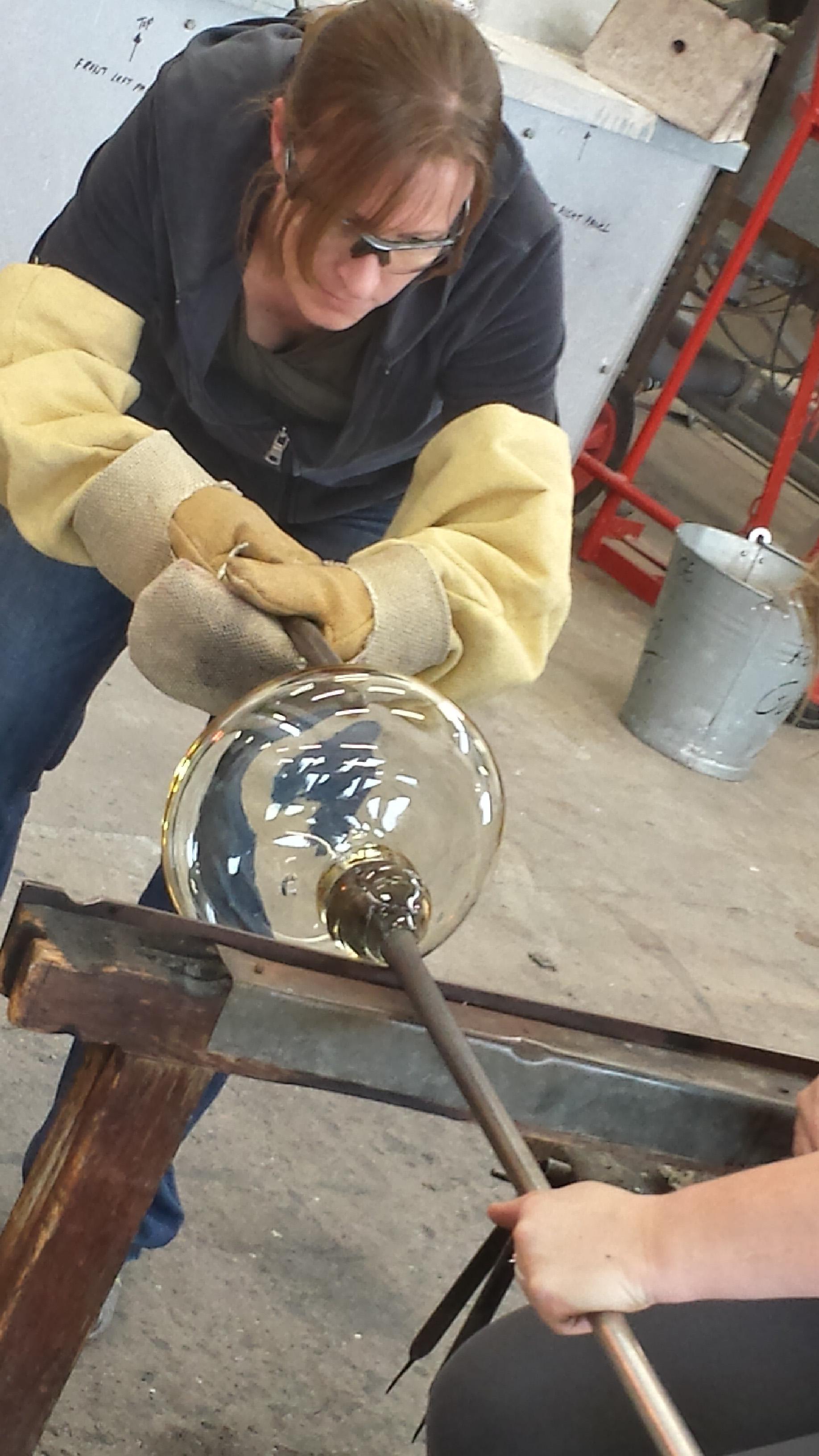 Making 'Sounding Glass'
