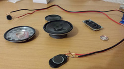 Microspeakers used for Installation