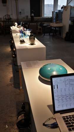 Sounding Glass in Exhibition