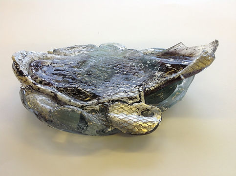 Underside of one of the creature 'Nesting' objects after annealing.