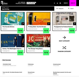 Propaganda Nominated at Webby Awards