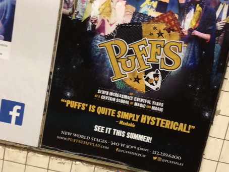 Puffs Ad Spotted!