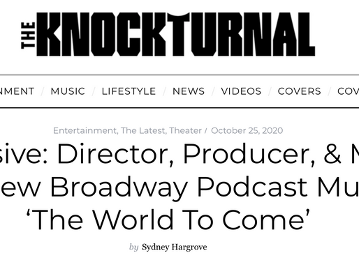 World To Come Interview in Knockturnal