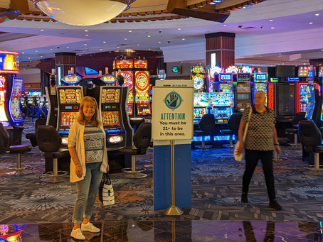 Foxwoods casino day 2