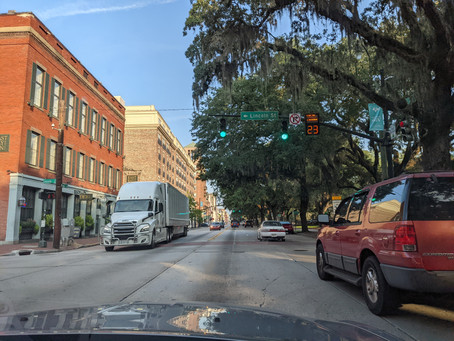 Last Day. Leaving Georgia headed to Tarpon Springs.