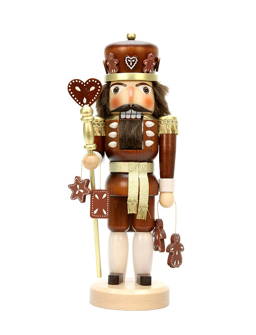 "Nutcracker Gingerbread Man - Natural 15""H"