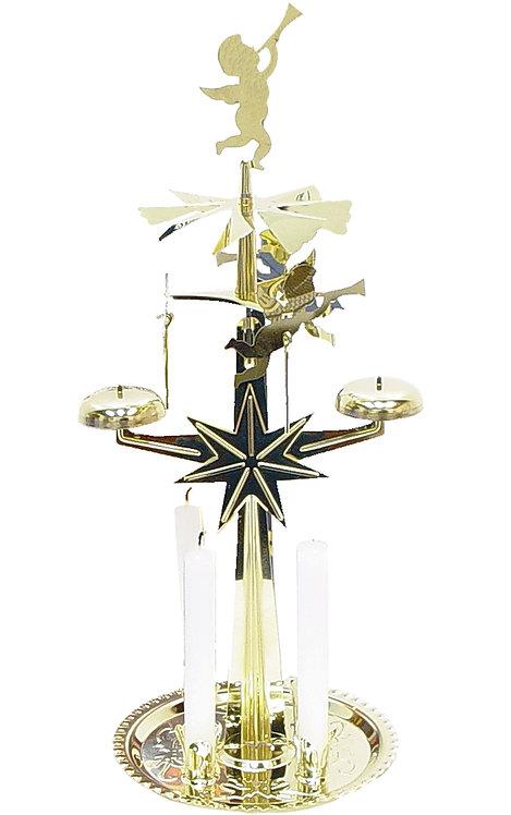 "Decoration - Angel Chime - Brass 12.5""H"