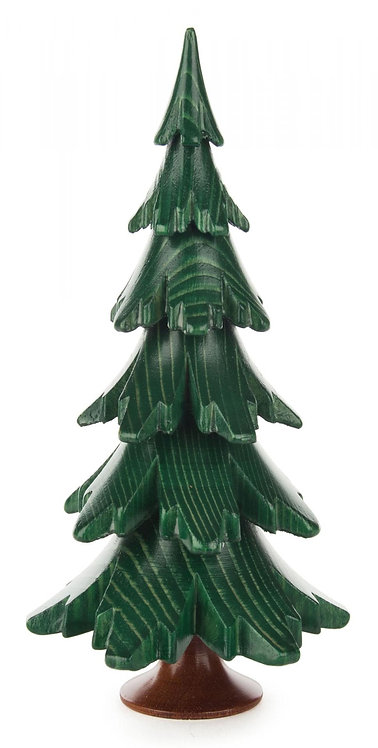 "Decoration - Tree - Painted Green 6.1""H"