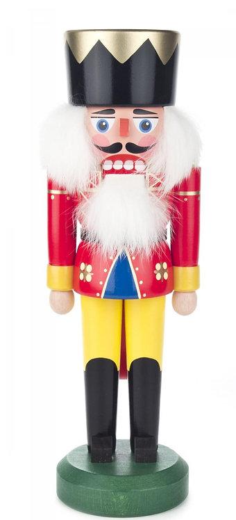 "Nutcracker King - Red/Yellow 11.1""H"