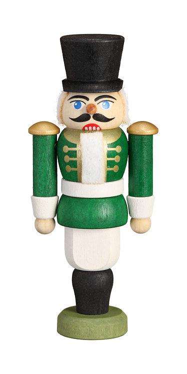 "Ornament - Nutcracker Hussar - Green 3.6""H"