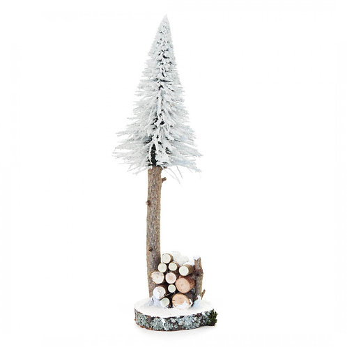"Decoration Tree - White 15.""H"