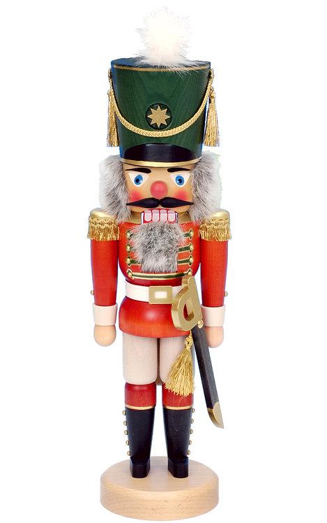 """Nutcracker Soldier - Red 17""""H"""