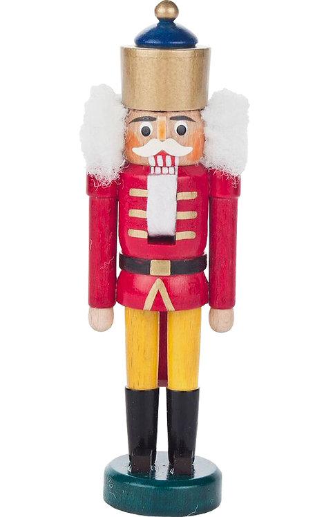"Decoration - Mini-Nutcracker King - Red 5.5""H"