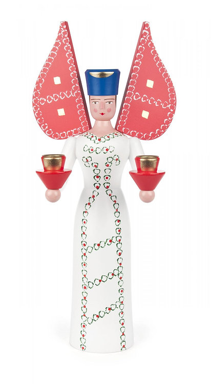 """Decoration - Angel (holds candles) 12.4""""H"""
