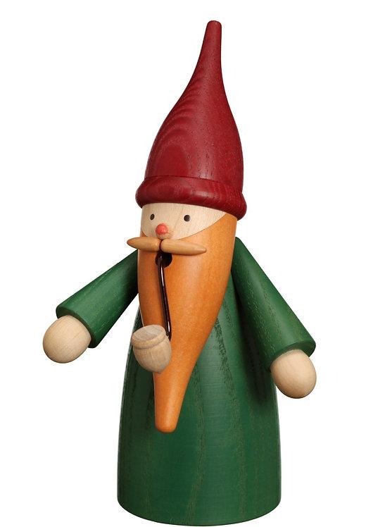 "Smoker - Gnome - Green 6.3""H"
