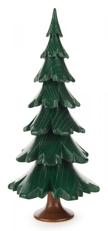 "Decoration - Tree - Painted Green 7.4""H"
