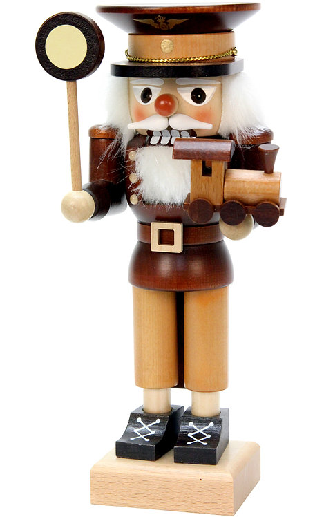 "Nutcracker Conductor - Natural 9.5""H"