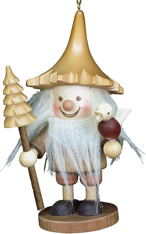 """Ornament - Forest Gnome - Natural 5""""H"""