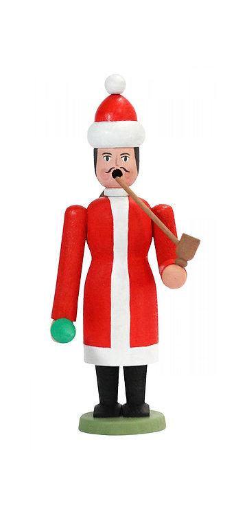 "Craft - Smoker Santa to Build - Painted 7.9""H"