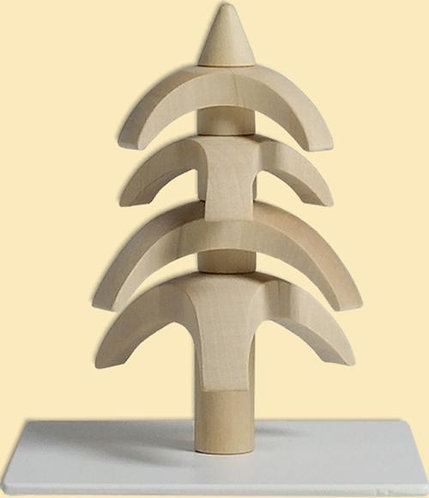 "Decoration - Tree to turn - Natural 3.1""H"