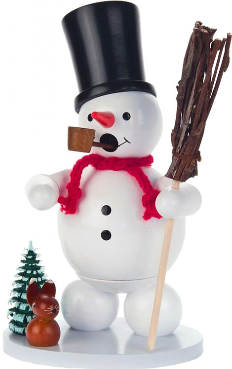"Smoker - Snowman - Painted 5.5""H"