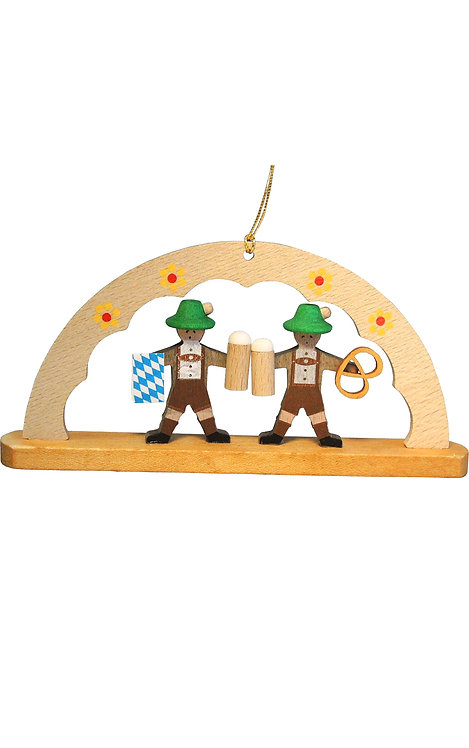 "Ornament - Arch with Bavarians 2""H"