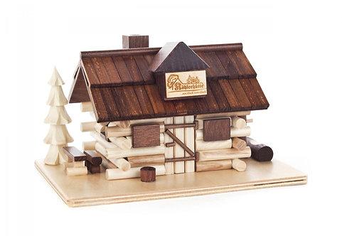 "Smoker - House where Coal is made (Köhlerhütte) - Natural 3.9""H"