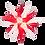 "Thumbnail: Moravian Star - Original Herrnhut Plastic Star, (A1e) (White/Red) - 5""H"