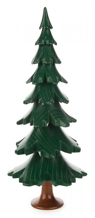 "Decoration - Tree - Painted Green 9.6""H"