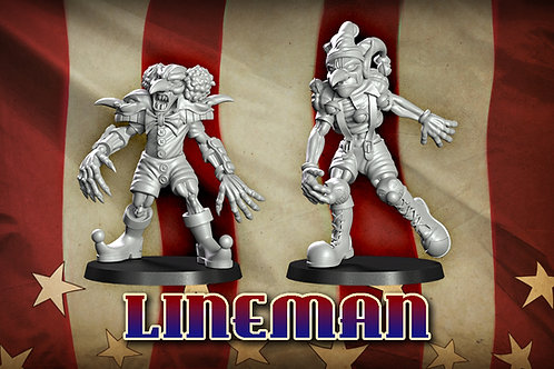 Gobfreak Stars Lineman Lot C