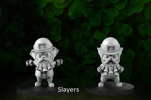 Saint Patrick's Slayers A&B