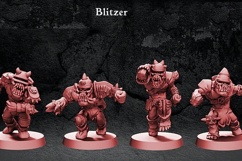 Pirate of The Orc Bay Blizers