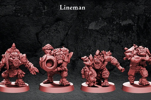 Pirate of The Orc Bay Linemans