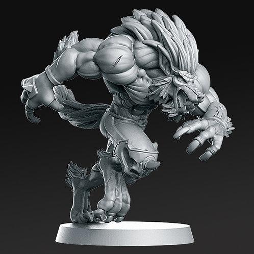 Undead / Necromantic - Werewolf B - RN Estudio