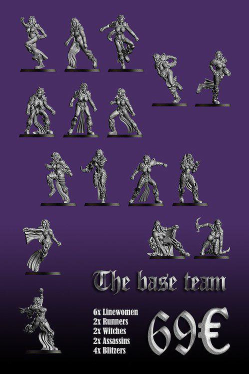 Occulte Predators Team Base