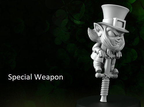 Saint Patrick's  Special Weapon D