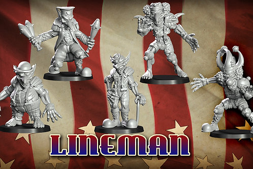 Gobfreak Stars Lineman Lot A