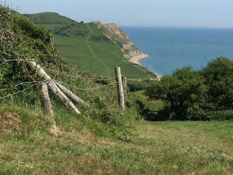 Walk the Coastal Footpath along the Jurassic Coast in Dorset