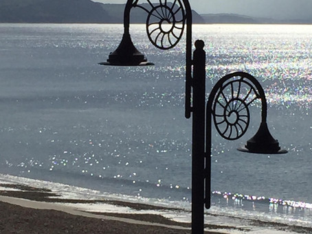 What a day at Lyme Regis, Dorset