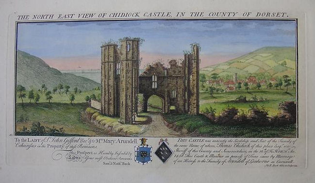 Chideock Castle, Dorset