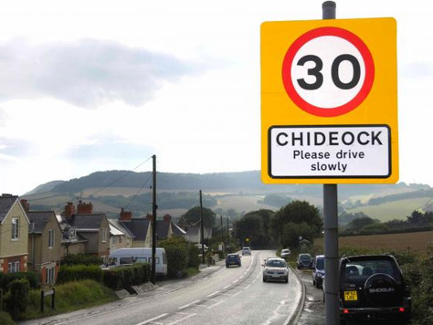 A35 Main Street in Chideock breaches air pollution limits says Friends of the Earth