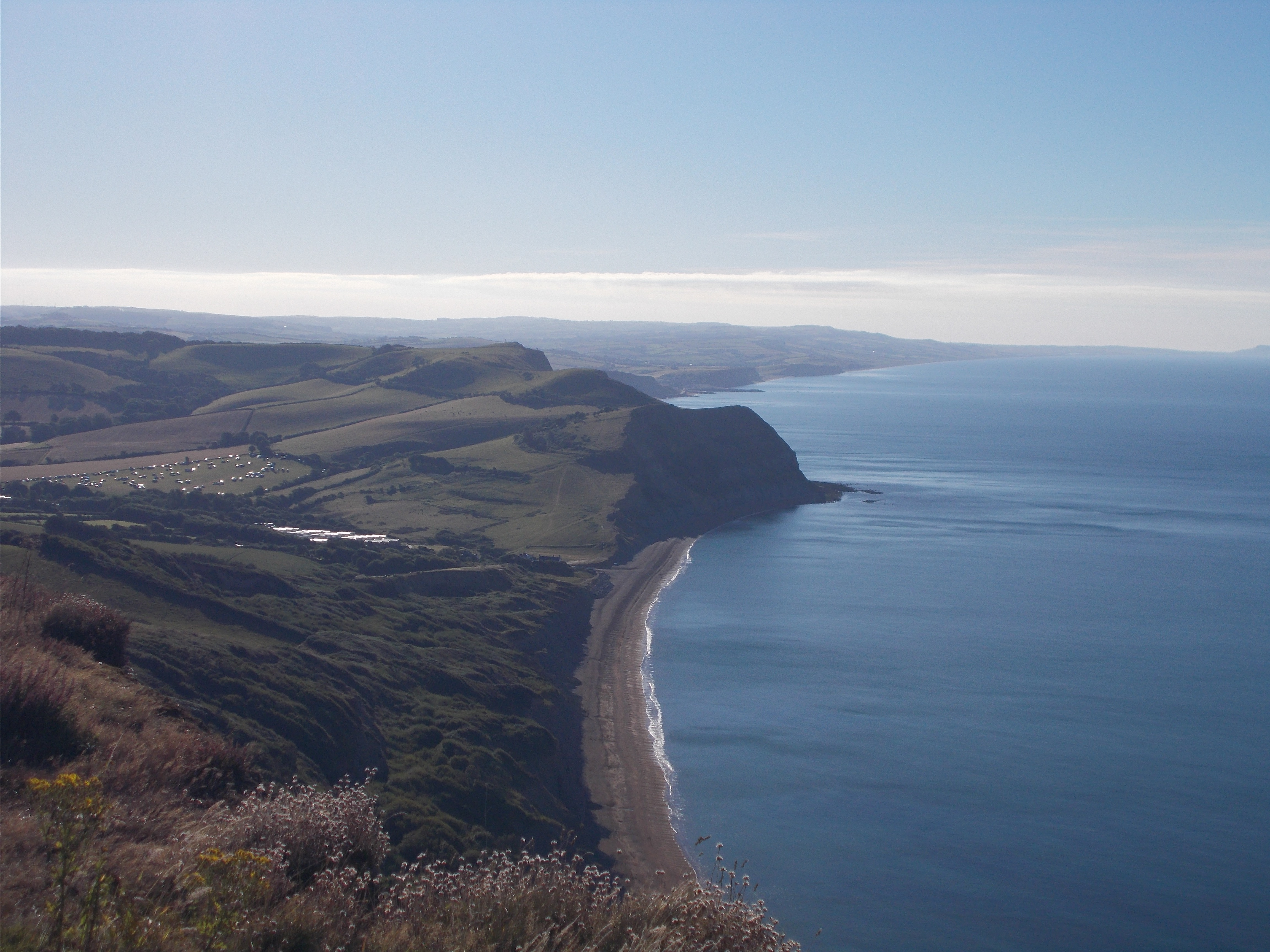 Looking towards West Bay