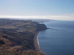 Looking towards West Bay
