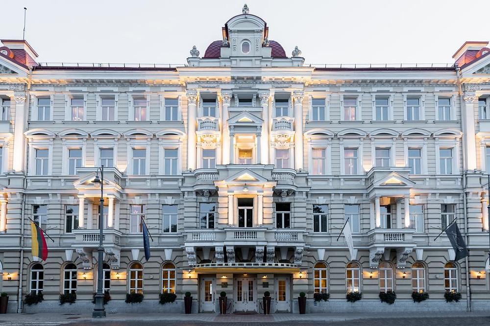 מלונות מומלצים בוילנה, המלצות על מלונות בוילנה מלון קמפינסקי וילנה